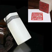 1pc Chinese Traditional Carving Seal Sculpture Stamp Resin Jade Seal Art Craft