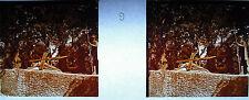 Photographie c1920 Chemin de croix des Espélugues Jésus tombe pour la 3ème fois