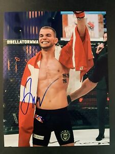 Jeremy Kennedy Signed 8x10 Photo Autograph MMA BELLATOR COA Autograph