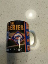 2000 New York Yankees vs Mets Subway Series Coffee Mug