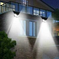 100LED Solar Power Wall Light Motion Sensor Waterproof Outd Lamp Garden Hot T8J1