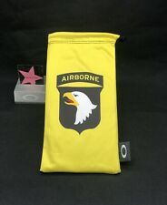 Oakley Airborne Microfiber Cleaning Bag Limited Edition Rare Authentic Army