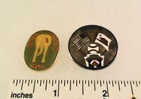 2 Little League Baseball PINs - UMPIRE - CA D46