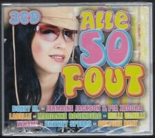 ALLE 50 FOUT 3-CD BOX SEALED Boney M Pia Zadora Milli Vanilli Marianne Rosenberg