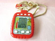 80s VTECH VTL HIPPO TEETH RETRO HANDHELD LCD GAME WATCH *WORKS* ELECTRONIC JEU