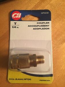 "Campbell Hausfeld T 1/4""NPT COUPLER MP3239 Pneumatic Fitting"