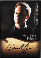 Vampire Diaries Season 1 Auto Autograph Card David Anders A13
