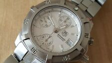 Men's Stainless Steel Automatic TAG Heuer 2000 Exclusive Chronograph CN2110-0