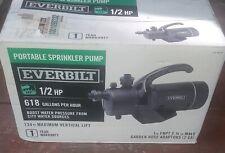 Everbilt PUP60-HD (1001 092 232) 1/2 HP Portable Utility Sprinkler Pump NEW!!!