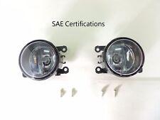 05 - 14 SAE Certifications Driver Passenger Sides Fog Light Lamps + H11 Bulb