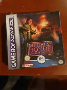 MEDAL OF HONOR UNDERGROUND NEW NINTENDO GBA/SP/DS/DS LITE UK UK