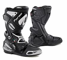 Leather BOOTS Racing Forma Ice Pro Flow Black White 45