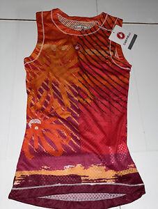 Castelli Cycling Women's BRAND NEW Pro Mesh Sleeveless Size Small Orange