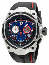 Lamborghini Spyder Red Line Blue Dial Mens Chronograph Watch SPYDER RED LINE 09