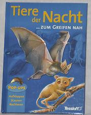 """""""Tiere der Nacht ...zum Greifen nah"""" aus dem Tessloff-Verlag, Pop-UPS, neu"""