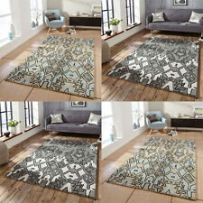Abstract Tribal 100% Wool Rugs
