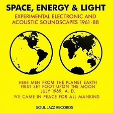 Space Energy and Light Various Artists CD European Soul Jazz 2017 14 Track