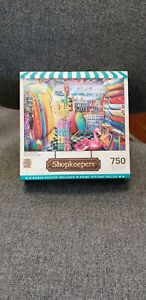 Shopkeepers 750 piece puzzle.  Master Piece.Poster included.  Pre owned