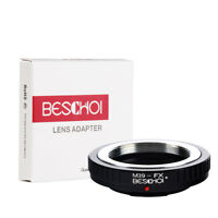 Beschoi Lens Adapter Ring for Leica M39 Lens to Fujifilm FX X-Series Camera Body