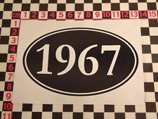 1967 Birthday Year Sticker - Fun Cheap Funny Comedy Present Gift Joke Party