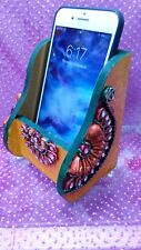 Perfect Gift Indian Style Wooden Mobile Stand Holder cell phone holder USA