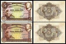 !COPY! SARAWAK 5$ DOLLARS 1929 & 5$ DOLLARS 1938 BANKNOTES !NOT REAL!