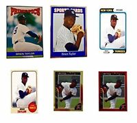 (6) Brien Taylor Odd-Ball Trading Card Lot #2