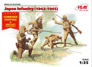 ICM 35568 1/35 Japan Infantry (1942-1945) WWII BLACK FRIDAY