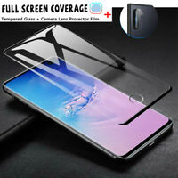 For Samsung Galaxy Note 10 Plus/ Pro 6D Tempered Glass Full Screen Protector lot