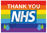 Thank You NHS Rainbow Supporting NHS Hospitals Staff On 200gsm Photo Paper