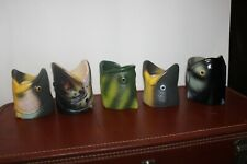 REP Rivers Edge Rubber Products 5 Fish Head Can Coolers Holders