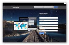 CubeSocial - PHP Social Network Script + Lizenz für Weiterverkauf!