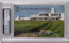 Lee Trevino  Hand Signed Royal Birkdale Scorecard  PSA