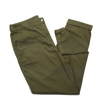 Chico's 1 (Women's Size 8) Skinny Stretch Ankle Pants, Olive Green, Inseam 27