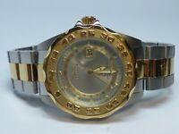 Invicta Men's Quartz Watch Two Tone 200M W/ Date - Works