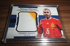 2018 National Treasures Soccer Iniesta Tremendous Jersey 3 COLOR Patch /99 Spain