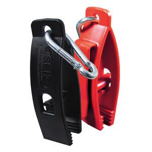 Seiz-Handschuhhalter mit Gürtelclip/Karabinerhaken