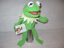 MUPPETS Hand Puppet KERMIT FROG Muppet Movie Disney 2012 NEW Card & Tag RARE