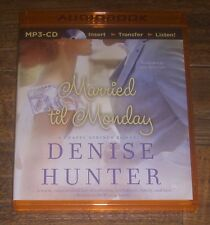 MARRIED TIL MONDAY Chapel Springs Romance 4 by Denise Hunter 2015 MP3-CD UNUSED!
