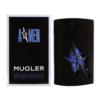 Angel Men by Thierry Mugler for Men 3.4 oz EDT Spray Refillable Rubber Spray New