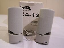 Cyber Acoustic Computer Speakers Model: CA-12