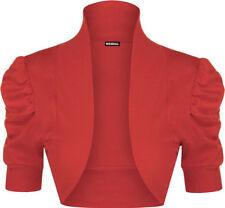 Magliette da donna, taglia comoda rossa di cotone