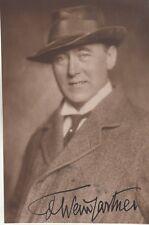 Felix von Weingartner - Komponist, Dirigent - Oper - original signiert