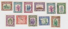 North Borneo Mint Hinge #193, 194, 197, 201 and Used #194-196, 198-201