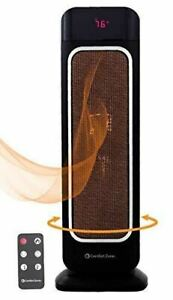Oscillating Space Heater with Remote Control