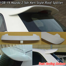 08-14 Mazda 2 5dr K Style Rear Roof Spoiler Wing (FRP)