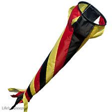 "German Windsock 36"" Flag Pole Use.Windspinner Caravan And Motorhome Use"