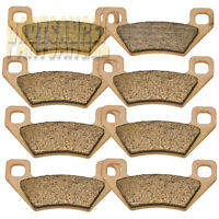 Front Rear Sintered Brake Pads For Arctic Cat Wildcat 1000 2012 2013 2014