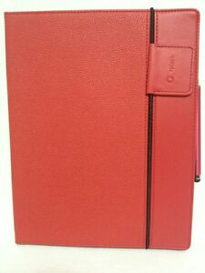 SPLASH RAINDROP CASE FOR IPAD 2 & 3 RED (TABLET/E-READER ACCESSORIES)