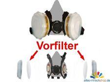 2 Ersatzfilter Partikelfilter Vorfilt Lackiermaske Atemschutz 8000E/9000E Gerson